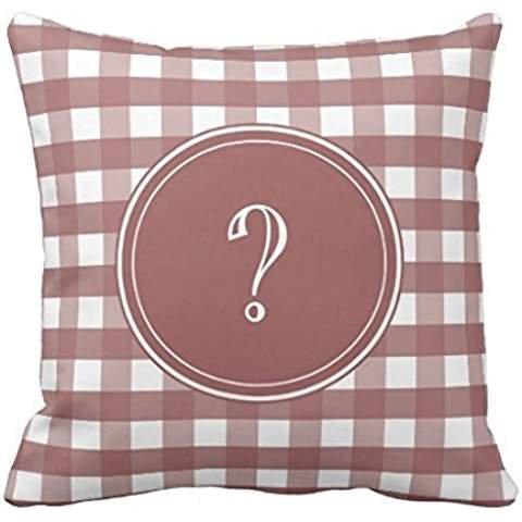 Red Apple Aqua Gingham Pillowcase Pillow Covers 2020 Pillow Case Cover Cushion