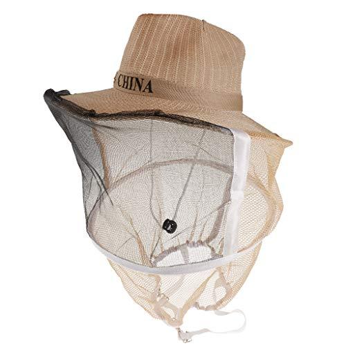 B Blesiya Sombrero de Velo de Apicultura Instalación Laboratorios Artículos Laboral