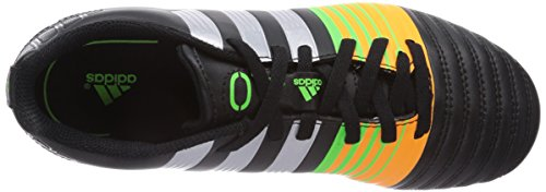 Adidas Nitrocharge 4.0 Fg - Scarpe da calcio, , taglia Nero (Black 1 / Metallic Silver / Neon Orange)