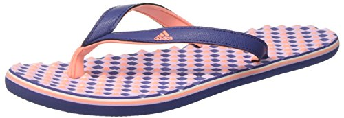 adidas Eezay Dots W, Damen Zehentrenner, Mehrfarbig (Raw Purple S16/sun Glow S16/purple Glow S16), 37 EU