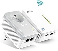 TP-Link CPL AV600 Wi-Fi 300 Mbps - 2 Ports Ethernet - Pack de 2 CPL (TL-WPA4225 KIT)