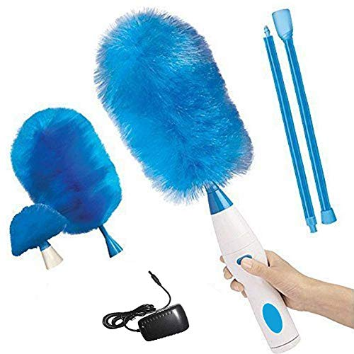 WCDP Pin Duster 360 Hurricane Spin Electric Duster Cleaning Brush That Can Charge, Duster Brush The Electric Duster Pen 180 ° Multifunctional Duster Charging