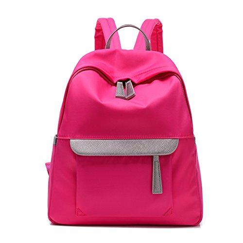 Damen schultertaschen,canvas-tasche-Blau Rose Red