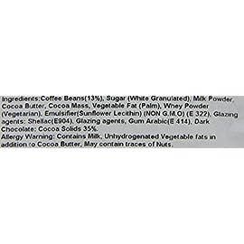 Rita Farhi Dark Chocolate Covered Coffee Beans in a Gift Jar, 770 g