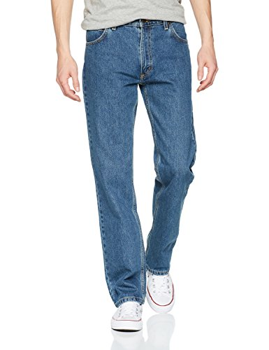 4fb5bee4 Lee Men's Brooklyn Comfort Straight Leg Jeans - Buy Online in Oman ...