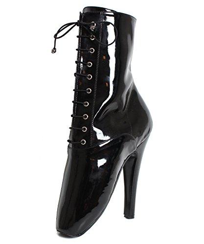 Dungeonz , Chaussures de ville à lacets pour femme Noir - Noir