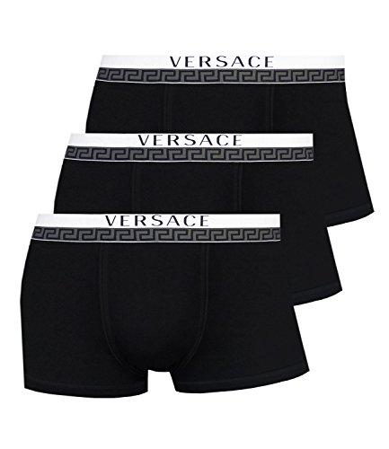 shorts Shorts Pants Low Rise Trunks AU10188 3er Pack, Farbe:Schwarz, Wäschegröße:2XL, Artikel:-A008 black ()