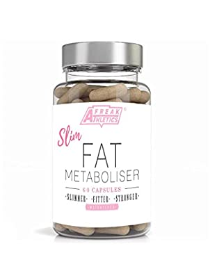 Fat Burner - Slim Fat Metaboliser - A Potent Weight Loss Supplement Which Provides An Advanced Fat Loss & Slimming Supplement- Using an Optimal Formula of Green Tea - L-Carnitine - Bitter Orange - Cayenne & Caffeine A Potent Combination of ingredients Tha