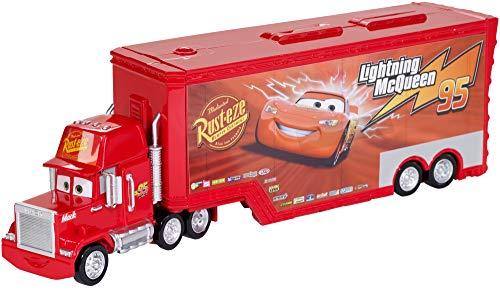 Cars 3- Mack Supercamión-Pista, Coches de Juguete, (Mattel FTT93)