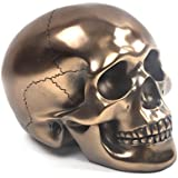 Effet Bronze crâne Presse-papier en cristal