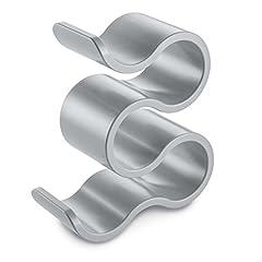 Idea Regalo - koziol, porta bottiglie Boa, in plastica, bianco, 11,1x 23,6x 28,6cm, Plastica, solid cool grey, 111 x 236 x 286 cm