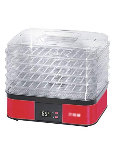 LGHHGJI Deshidratador de Alimentos, Temperatura Ajustable, Tiempo de 1~36 Horas, Potencia 250W,...