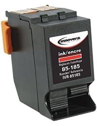 Neues ivr85185Tintenpatrone–Tintenpatronen (rot, Standard, ijink678h, Neopost IJ70, IJ75, IJ80, IJ85; Hasler wj135, wj150, wj180, WJ185, wj215, Tintenstrahldrucker, Box)