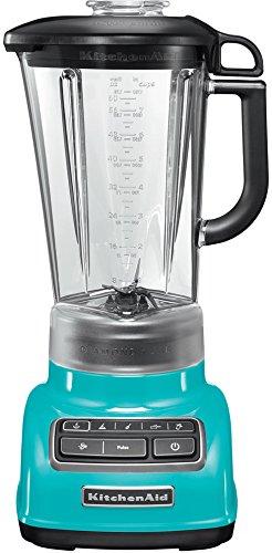 KitchenAid 5KSB1585ECL Crystal - Batidora de vaso, color azul