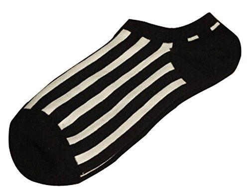 Lot de 2 Flag chaussettes en coton chaussettes pour hommes Blanc Gris Noir blanc