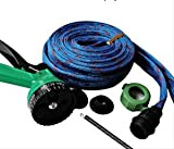 #5: Jhapat Water Spray Gun 10 Meter Hose Pipe- House, Garden & Car Wash Hose Pipe (Blue)