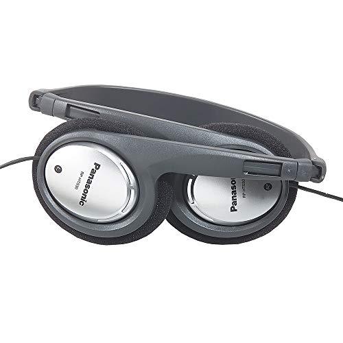 Panasonic RP-HT030E-S Kopfhörer (faltbar für den kompakten Transport, besonders leicht und angenehm zu tragen) silber - 2
