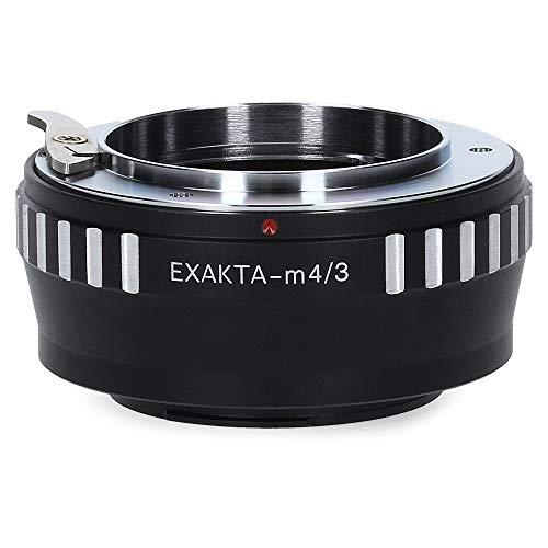 Berlin Optix Exakta-M4/3 Kamera Objektiv Adapter kompatibel mit Micro Four Thirds M4/3 MFT Ring Exakta Exa