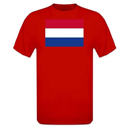 Netherlands Flag-t-shirt (Netherlands Flag T-Shirt by Shirtcity)