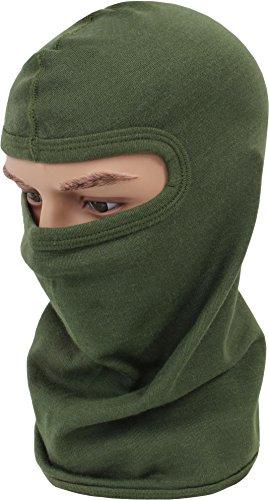 normani normani Flammhemmende Kopfhaube aus hochwertigem Nomex® Material Farbe Oliv