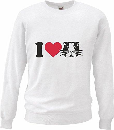Reifen-Markt Sweatshirt Damen Motiv-113323 Größe 2XL Farbe Weiss Druck