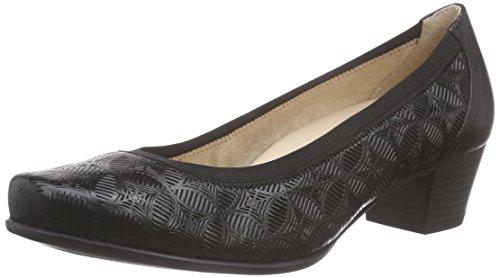 Caprice 22305, Chaussures à talons - Avant du pieds couvert femme Noir - Noir (1)