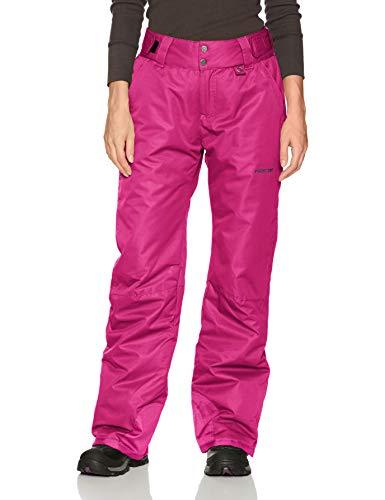 Arctix Damen Schneehose Insulated Pants, Damen, Women's Snow Pants, Orchid Fuchsia, Large/Regular