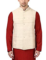ethnix Mens Jacket (RTUA00033-W0_White_108)