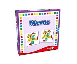 noris 608985665 Niños Juego de mesa de aprendizaje - Juego de tablero (Juego de mesa de aprendizaje, Niños, Niño/niña, 3 año(s), 24 pieza(s))