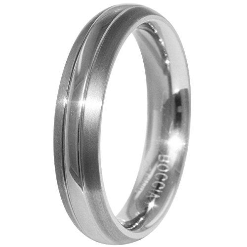 Boccia Unisex-Ring You and me Titan Gr. 63 (20.1) - 0131-0163