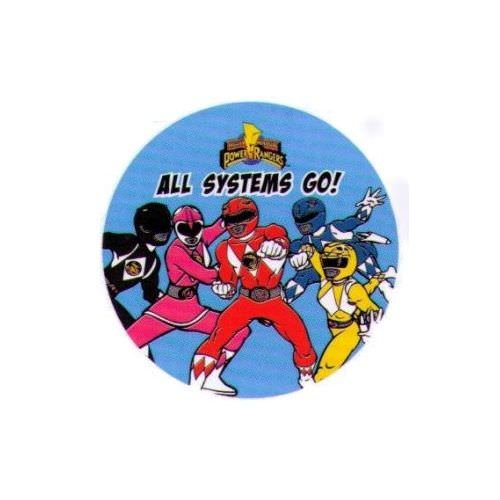 Rangers All Systems Go 1.25 Inch Button ()