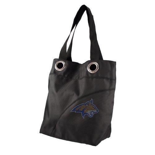 ncaa-montana-state-bobcats-sport-noir-sheen-tote-bag-black-by-littlearth