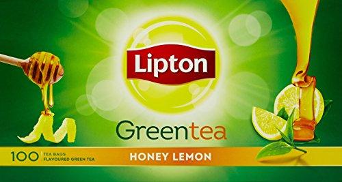 Lipton Honey Lemon Green Tea Bags, 160g (100 Pieces)
