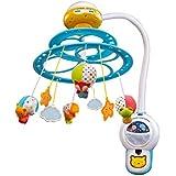 VTech Baby - Proyector móvil Noche Estrellitas bebé, con luces y sonidos relajantes, lámpara/módulo extraíble, mando a distancia y temporizador (80-181022)
