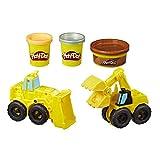 Hasbro Play-Doh Wheels E4294EU4 - Bagger und Schaufler Knete, für fantasievolles und kreatives Spielen