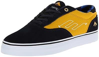 Emerica The Provost, Chaussures de skateboard homme - Jaune (Navy/Yellow), 41 EU (8 US)