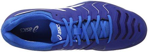 Asics Herren Gel-Challenger 11 Tennisschuhe Blau (Limoges/white/directoire Blue)