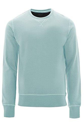 Brave Soul Herren Langarmshirt Blue - Light Grey