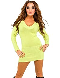 Glamour Empire. para mujer Vestido estilo jersey. Jersey de punto capucha. 421