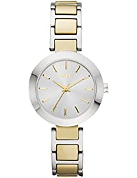 DKNY Damen-Armbanduhr Analog Quarz Edelstahl NY2401