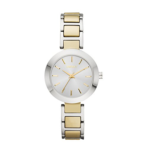 DKNY (DNKY5) Women's Quartz Watch with Silver Dial Analogue Display and Multicolour Stainless Steel Bracelet NY2401