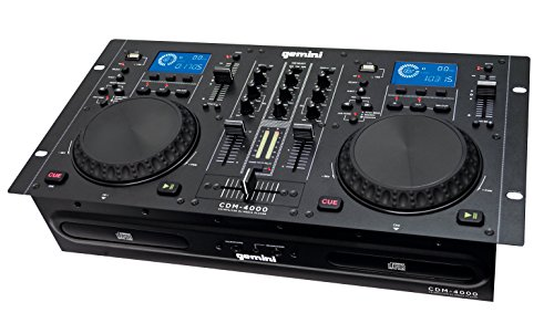 Console DJ Doppel-Player Multimedia USB/CD/MP3