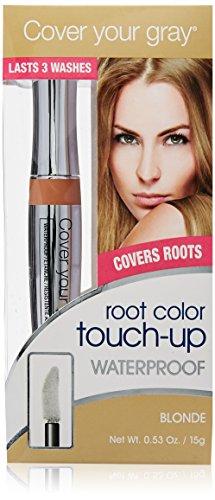Bedecken Sie Ihre grauen Wasserdicht Wurzel Color Touch up - Blonde / Lt Brown (Touch-up-wurzeln)