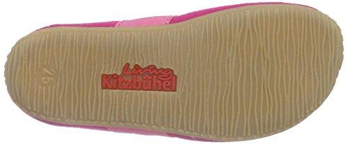 Living Kitzbühel T-modell Katze Mit Brille, Chaussons courts, non doublées fille Rose - Pink (bubblegum 365)