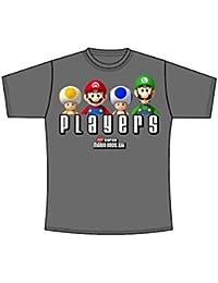T-Shirt Super Mario - anthracite - Taille XL