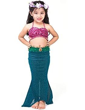 Kinder Fancy Beachwear Meerjungfrau Schwanz Kostüm Badeanzug für Mädchen Kinder Bademode Cosplay Kostüm für Schwimmen...