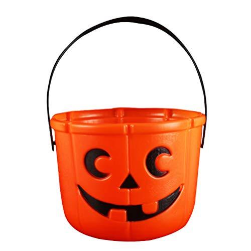 Halloween Trick Or Treat Körbe - SUPVOX 2 stücke halloween kürbis eimer