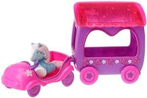 Smoby - 5957780 - Poupée - Accessoire - Filly Princesse - Petite Modèle - Voiture Van  + Poney