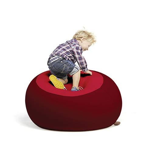 Terapy - STANLEY Relax Indoor Sitzsack - Sitzkissen, 70x70x60cm in bordeaux / rot