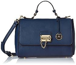 Diana Korr Womens's Handbag (Blue) (DK28HBLU)